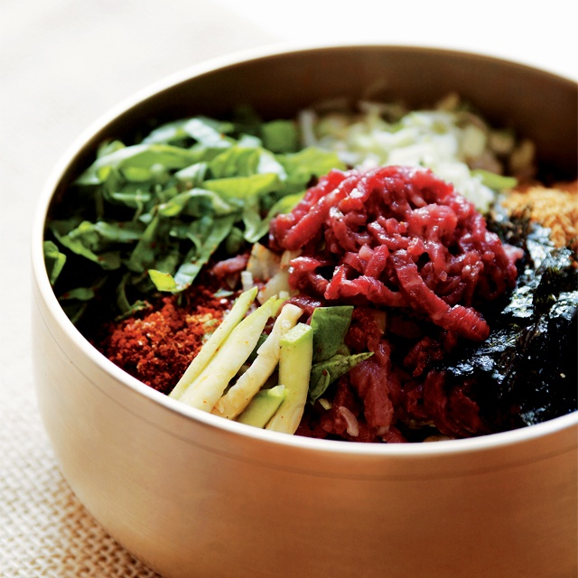 육회 비빔밥