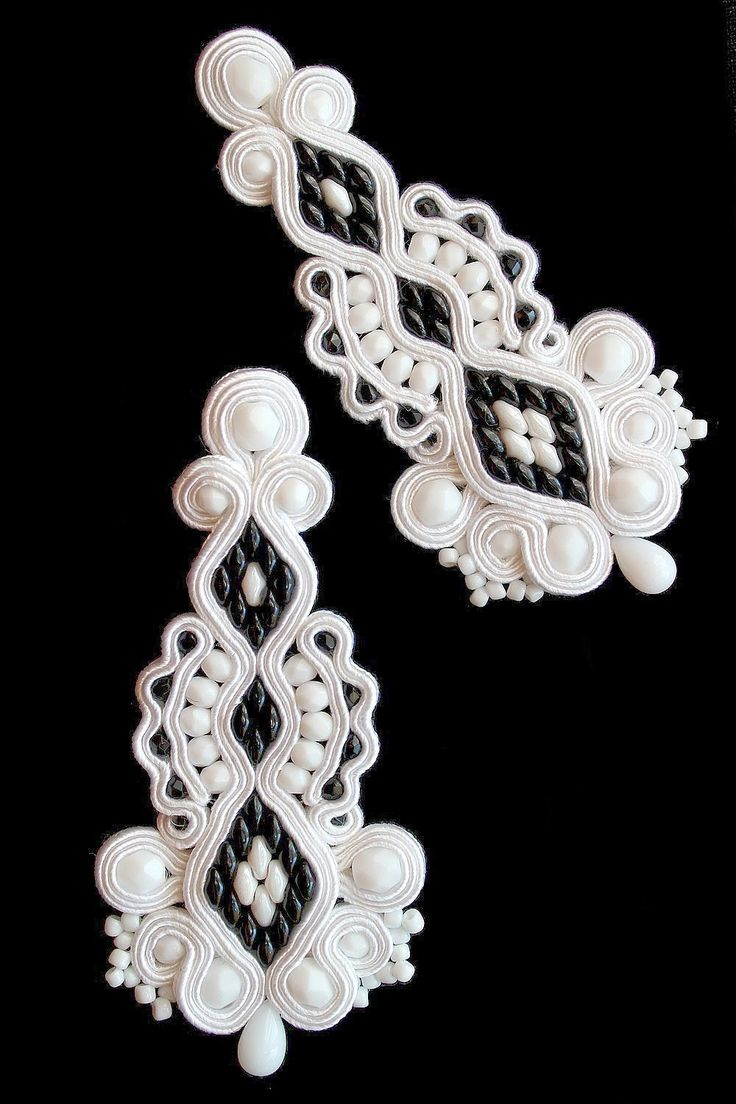 Sutasz Kleo /Soutache jewellery: ślub/wedding