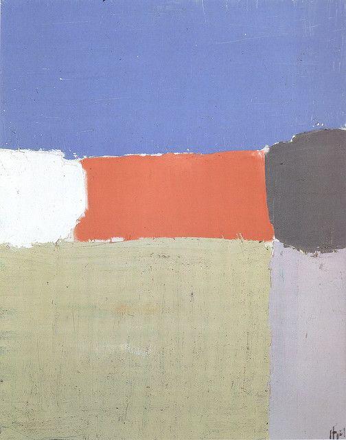 """Nicolas De Stael """"Paysage""""(1952)"""