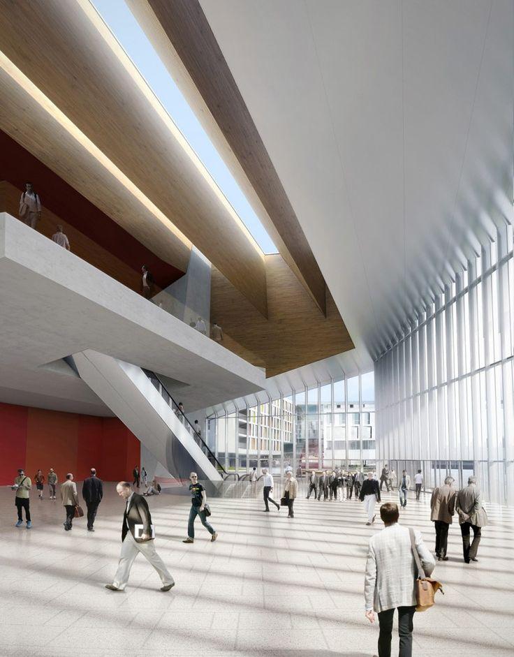 Gallery of richter dahl rocha develops innovative façade for swisstech convention center 5