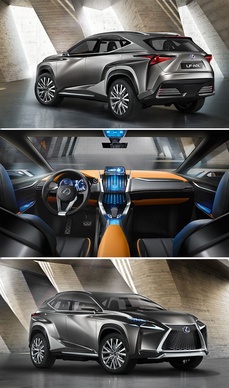 Worl premiére of the #Lexus LF-NX CROSSOVER CONCEPT at the 2013 FRANKFURT MOTOR SHOW #IAA