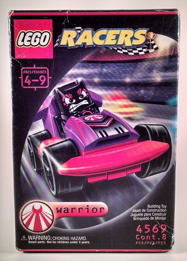 Lego Racers Warrior 4569 New In Box 2011 Ramas Xalax HTF Block #Lego