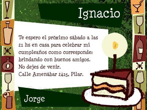 Tarjetas de invitación para cumpleaños de hombres - Imagui