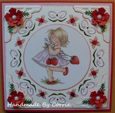 Corrie's Scrapkaarten: Borduurkaarten