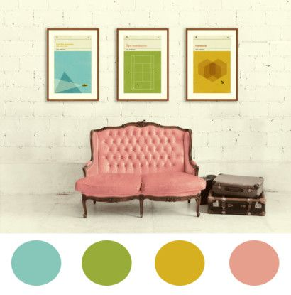 Decorate like Wes Anderson films.