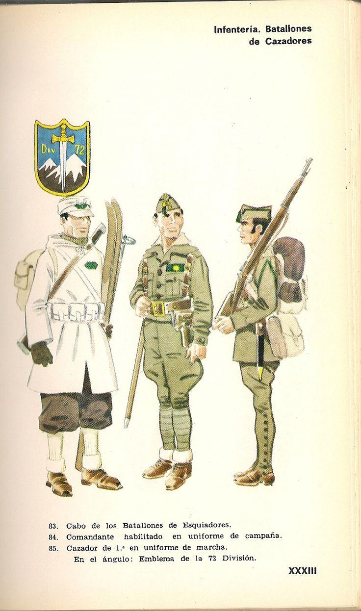 Mejores 172 imágenes de Uniformes militares de España en Pinterest ...