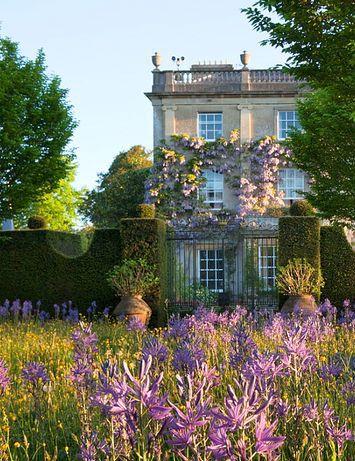 English country house.meadow garden. HIGHGROVE, england