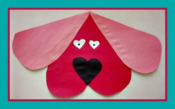 Pinterest Fall Preschool Crafts | Clifford The Dog Valentine Craft and Love Song | KIboomu Kids Crafts
