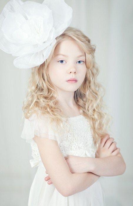 Russian Child Model Alisa Lukoyanova.