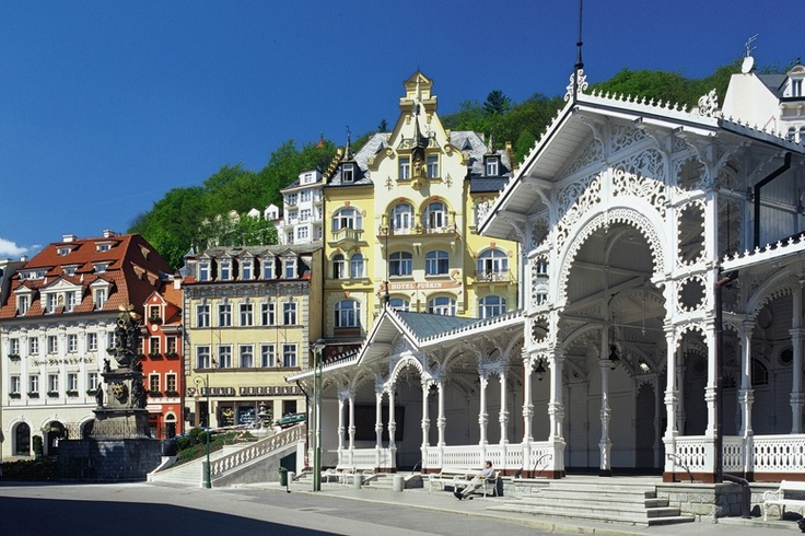 """Little Versailles"" spa, Karlovy Vary"