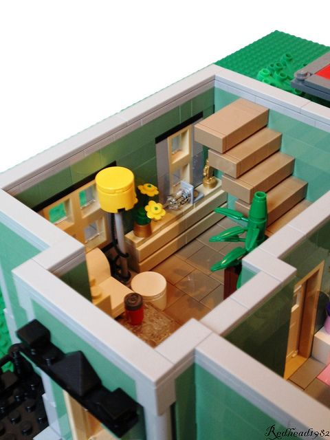 LEGO furniture and interiors - #LEGO LEGO Lego