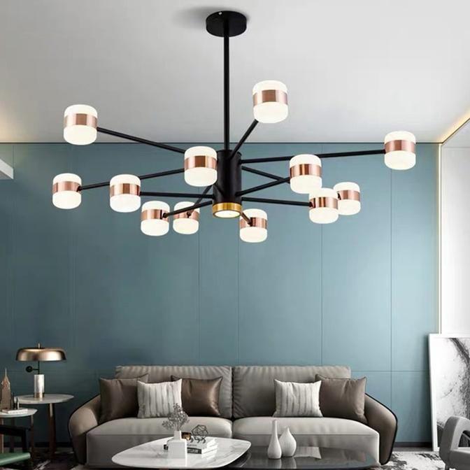 Aster Chandelier In 2020 Simple Chandelier Living Room Decor