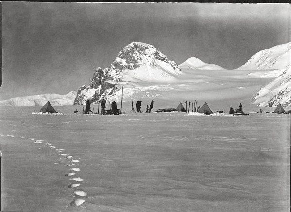 captain robert falcon scott's lost photographs, 1910.