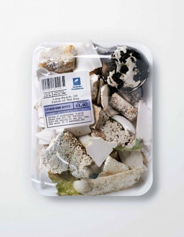 For Ocean Pollution Awareness: Used Condoms, Cigarette Butts 'Sold' At Markets