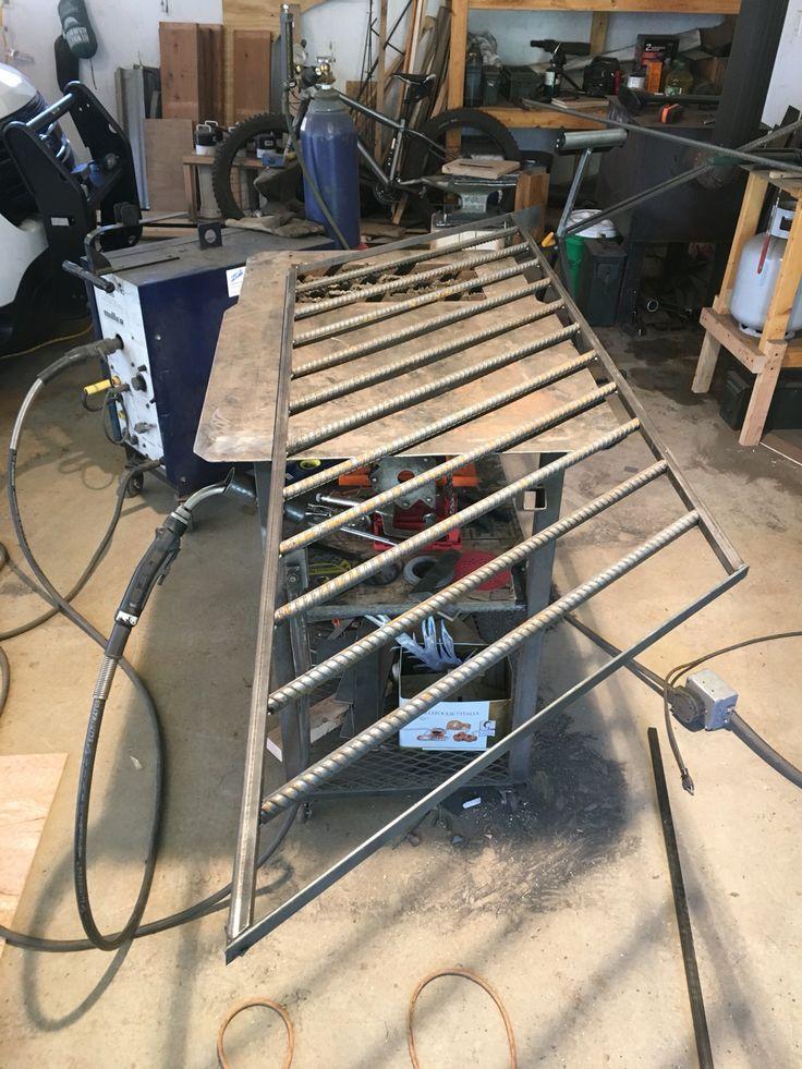 a rebar railing i made last week - Terrassen Gelander Design