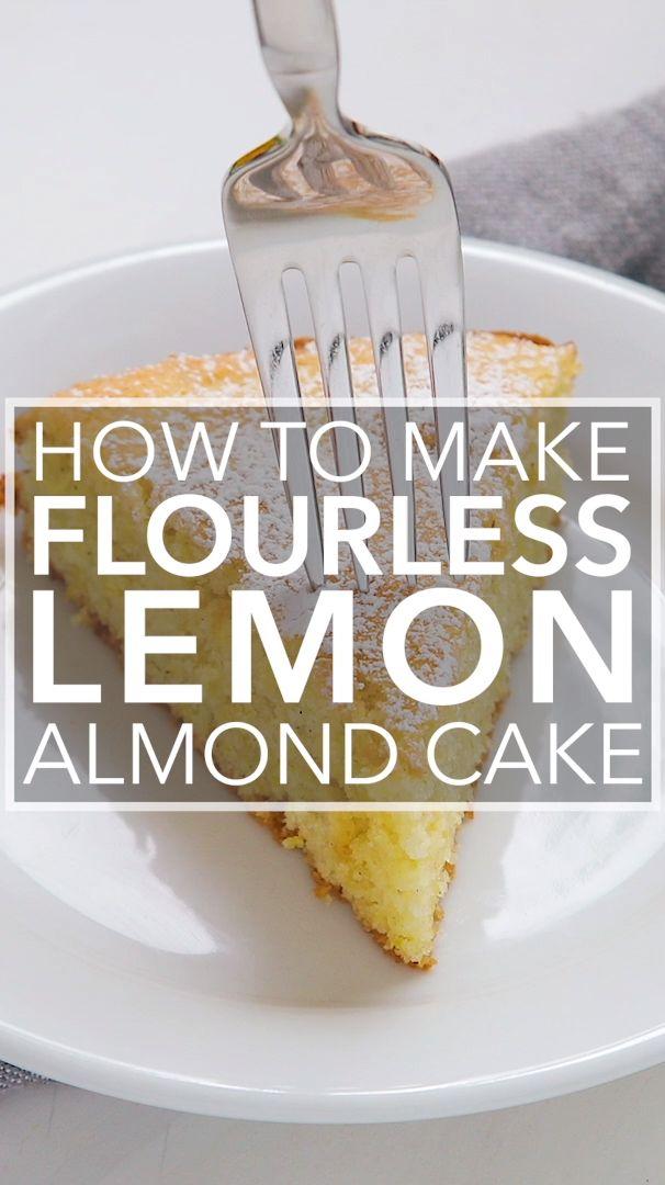 Mehlloser Zitronen-Mandel-Kuchen   – Simply Recipes Videos!