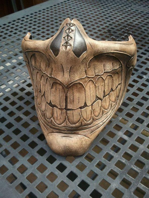 evil grin face mask2