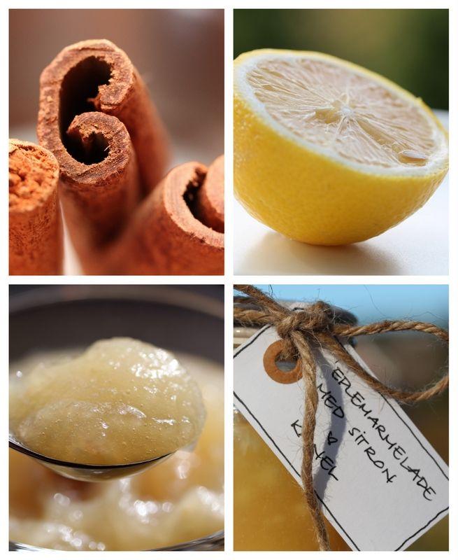 Eplemarmelade med sitron og kanel på epledagen! - TRINEs MATBLOGG
