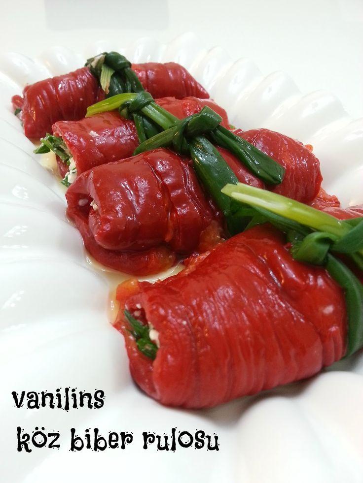 Vanilins: Köz biber rulosu (peynirli)