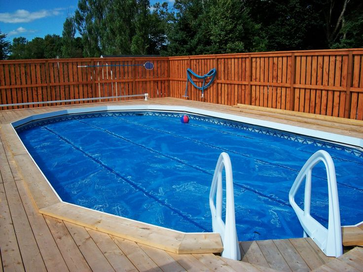 47 best above ground pools images on pinterest above for Above ground pool decks las vegas