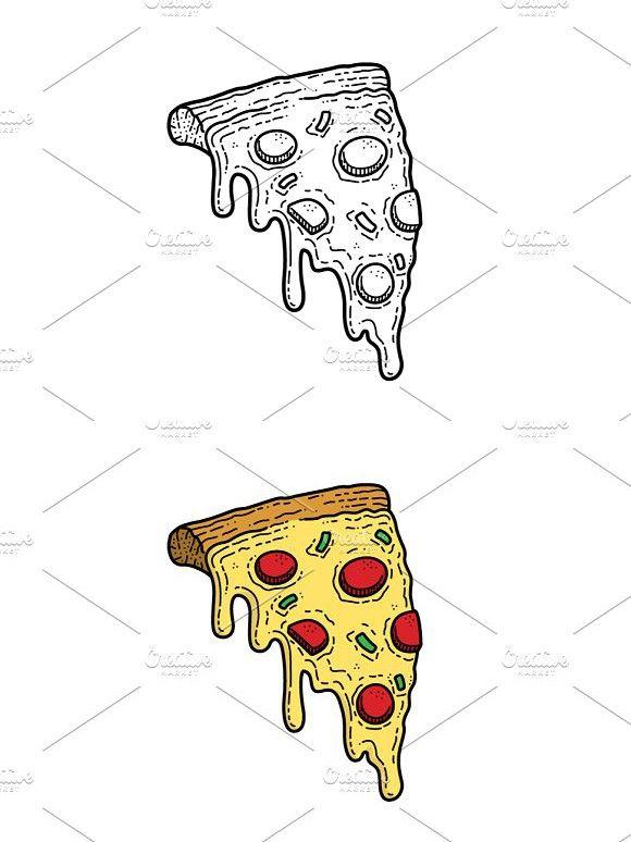 Pizza - Vector #pizza