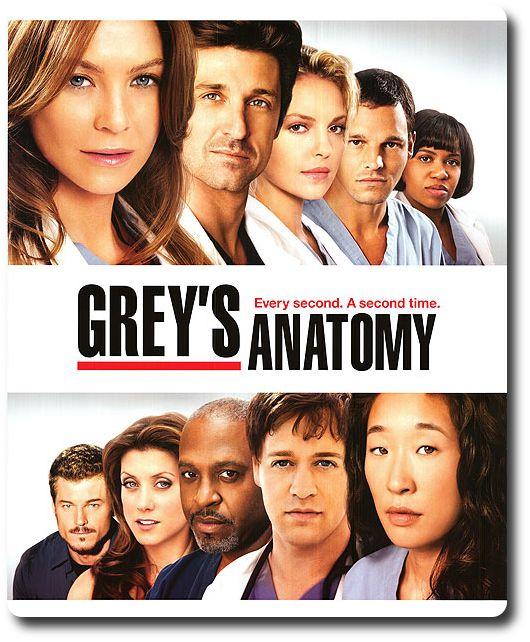 Grey's Anatomy, de Shonda Rhimes (2005-2015).