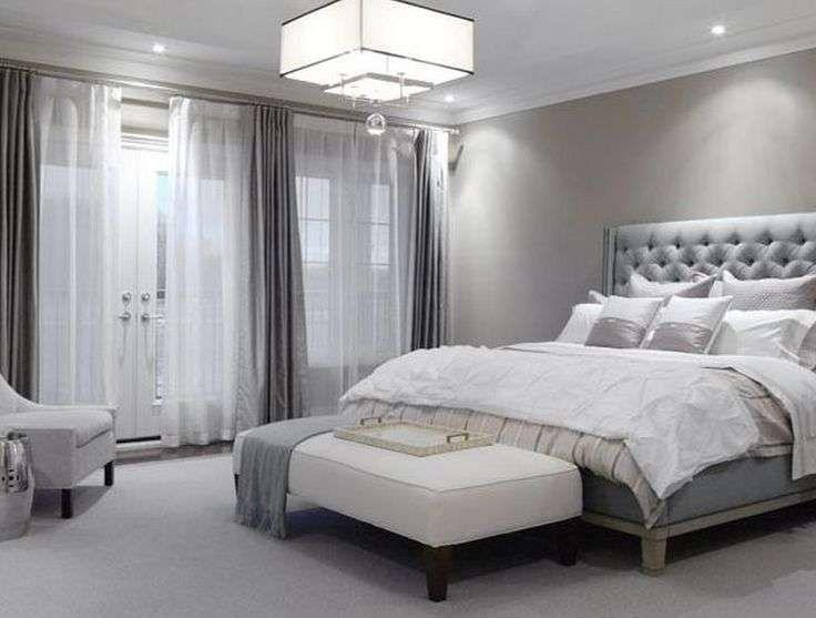 Idee camera da letto color tortora - Camera da letto moderna
