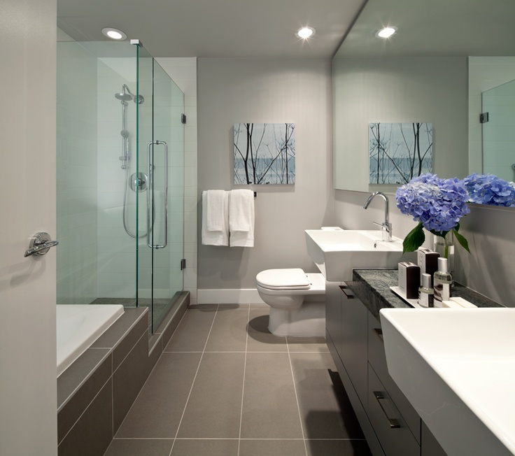 Best Condo Bathrooms Images On Pinterest Bathroom Ideas