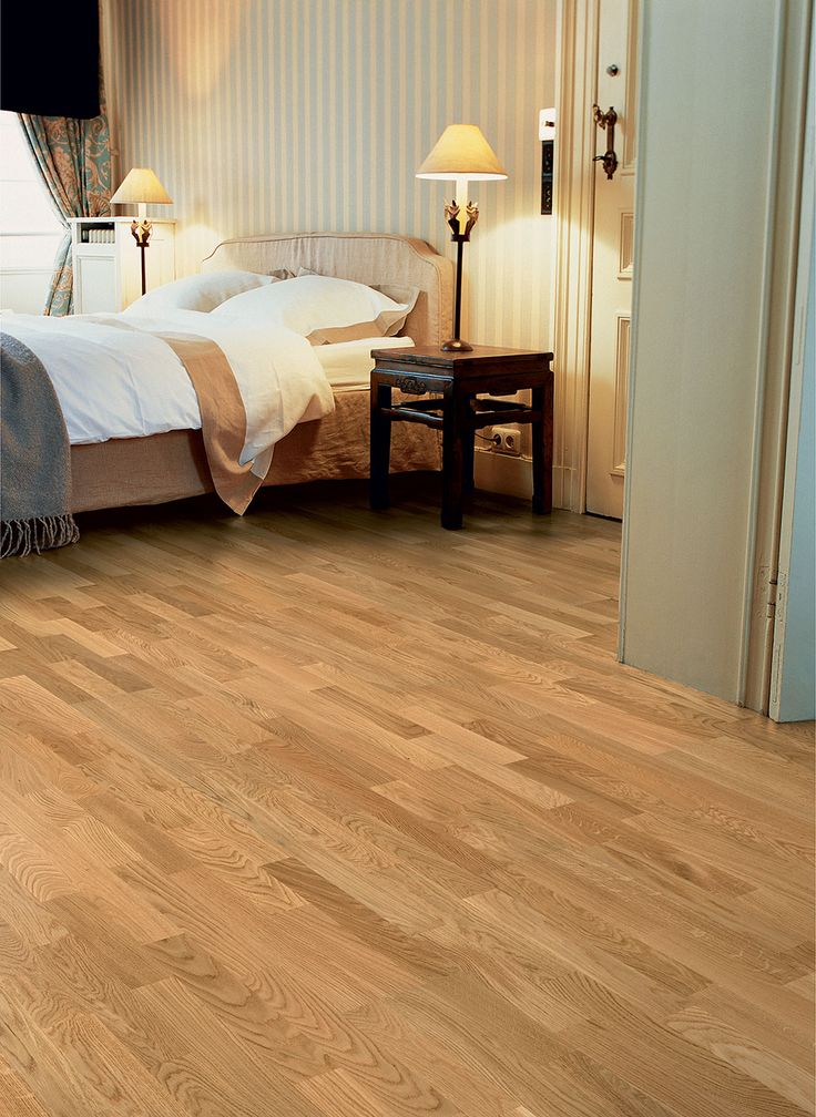 Wood Floor Small Bedroom. Quickstep Castello Natural Noble Oak Satin Engineered Wood Flooring has a  beautifully light finish to it adding relaxed yet refined atmosphere just 15 best Quick Step Parquet images on Pinterest Hardwood floors