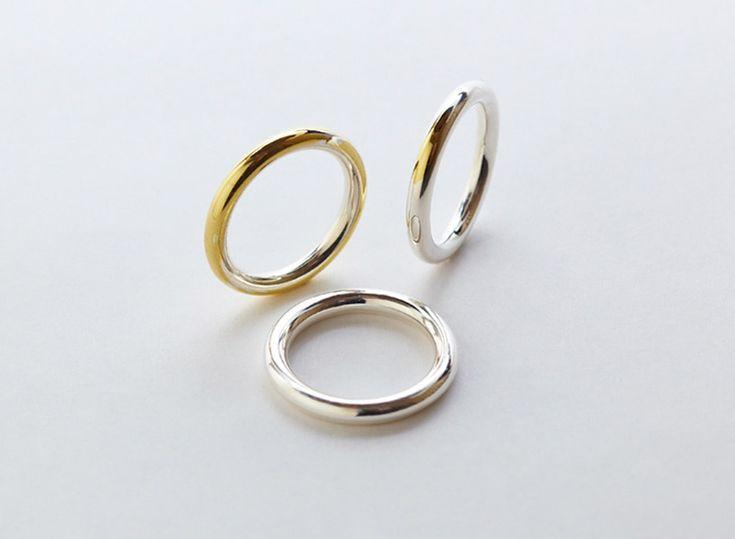 gold wedding ring by torafu architects