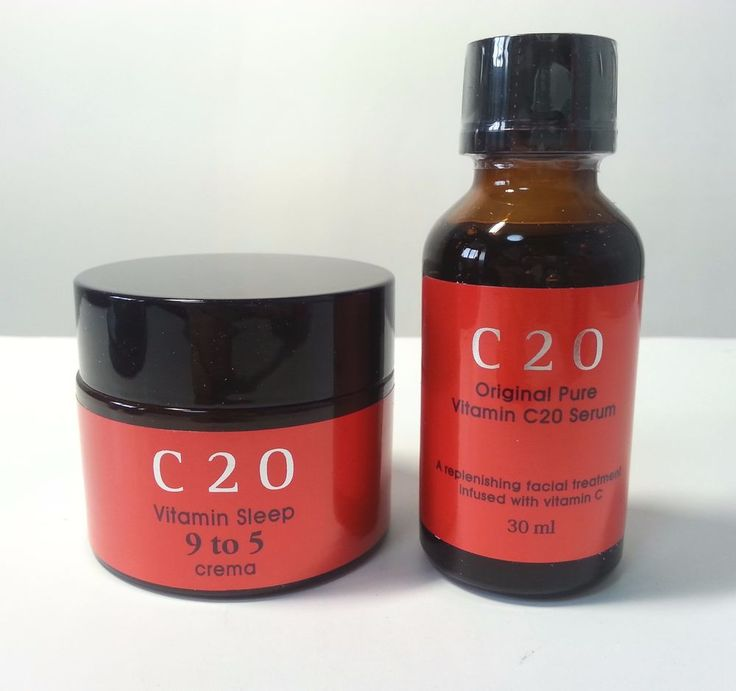 OST C20 Original Pure Vitamin Serum & Sleep 9 to 5 Crema Cream (30ml+50ml)…