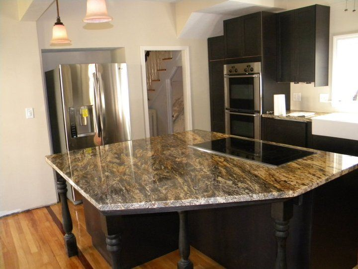 71 Best Images About Granite Kitchen Countertops Islands On Pinterest Blue Granite White