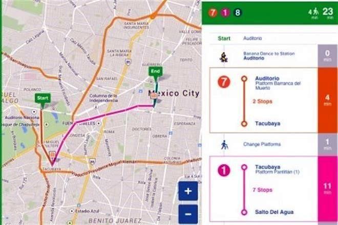 Añade City Mapper peseros y Pumabús