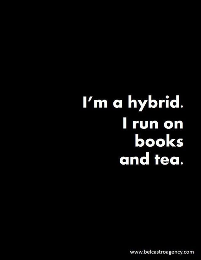 Mmm, books and tea. <3