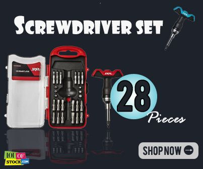 Screwdriver Gets It Done On Time....http://goo.gl/viMd1x...