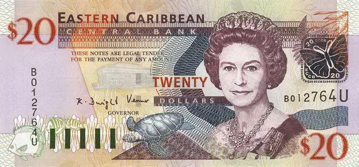 20 Долларов (2003) Британские Виргинские острова (British Virgin Islands) Северная Америка