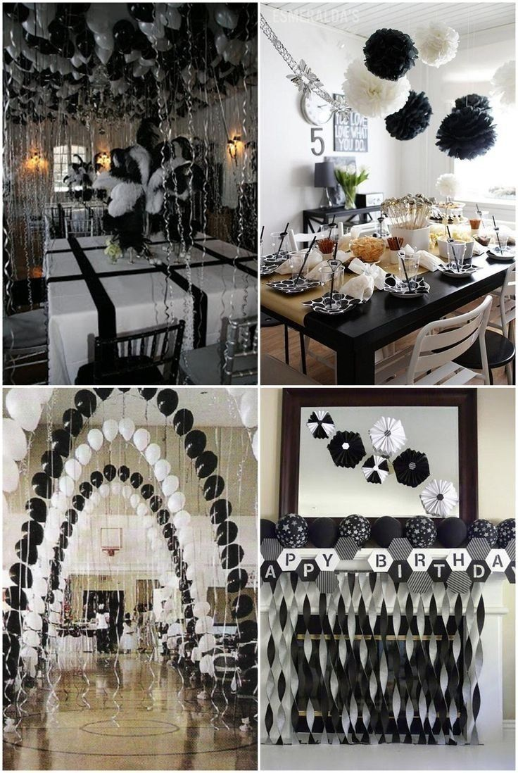 10 Attractive Black And White Party Food Ideas White Party