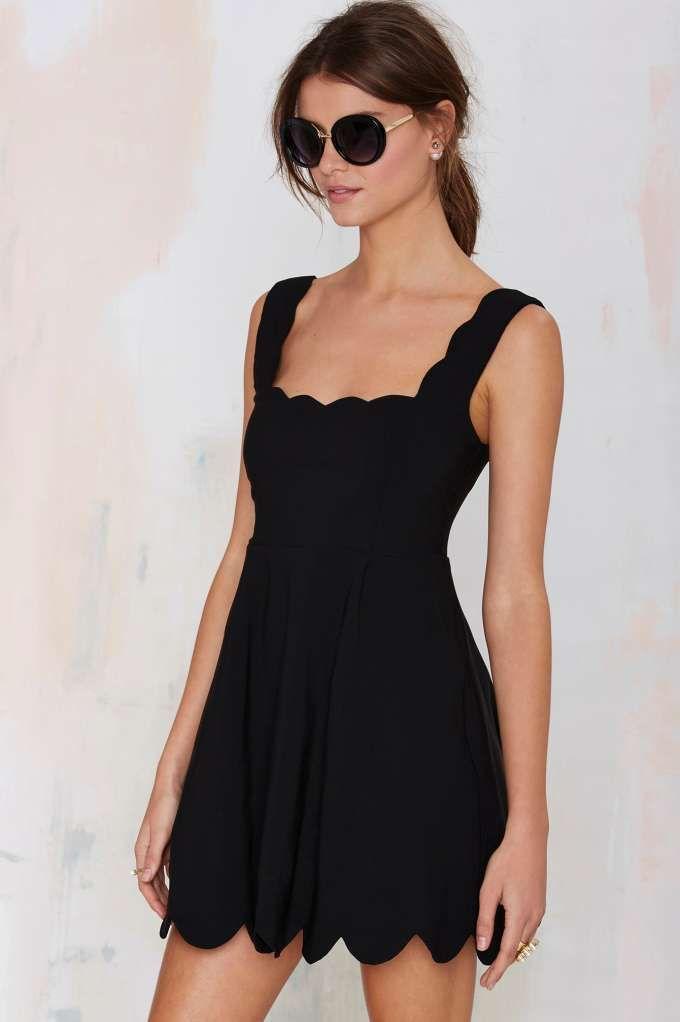 Nasty Gal I'm Yours Dress - Black - Day   Fit & Flare   LBD   Dresses