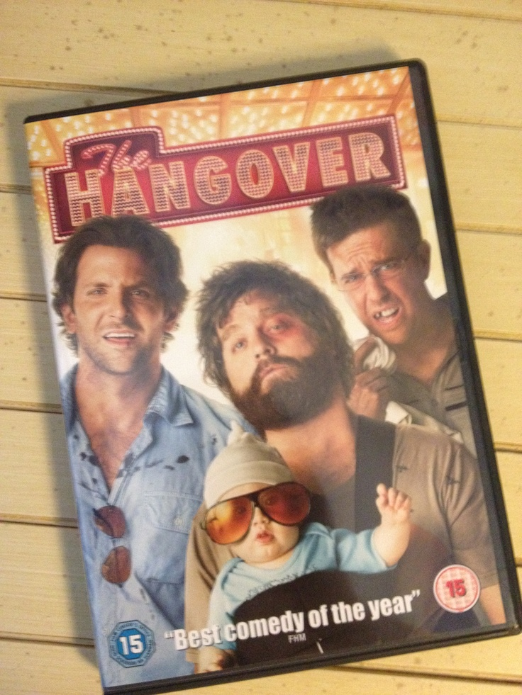 The Hangover - how men think their stag do will turn out!