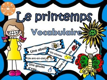 Voici une liste des mots qui ont rapport avec le printemps. Vous pouvez les mettre sur votre mur de mots, faire un jeu ou les ajouter dans un centre de littratie.Utilisations:- Jeux de devinettes et definitions- Mur de mots- Centre de littratie Here are a list of words about Spring.