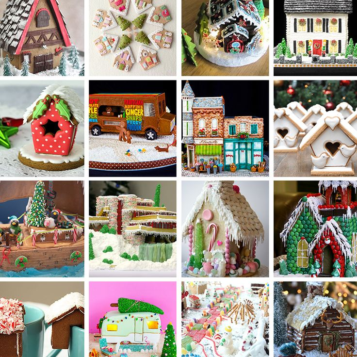 The Most Adorable Gingerbread House Tutorials