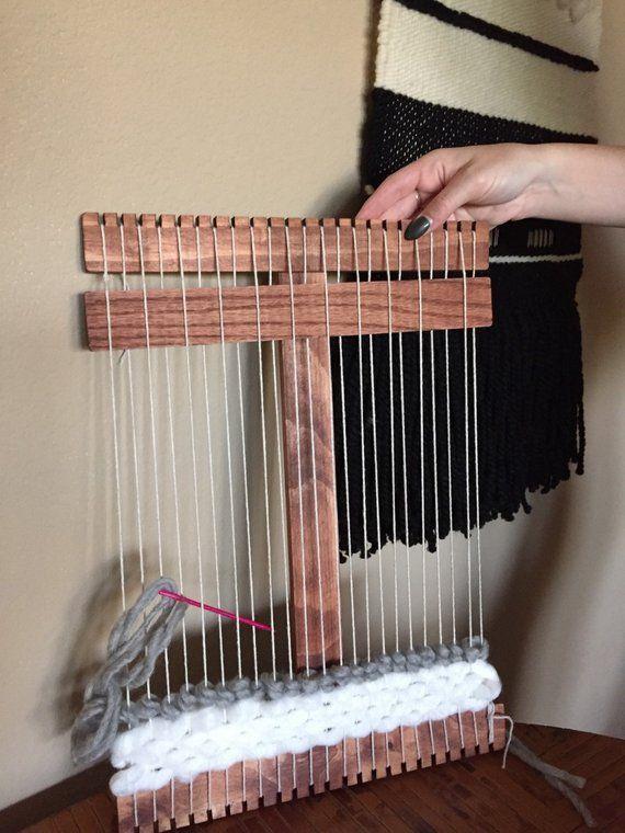 Kids Size Wood Weaving Loom Amp Beginner Weaving Kit You