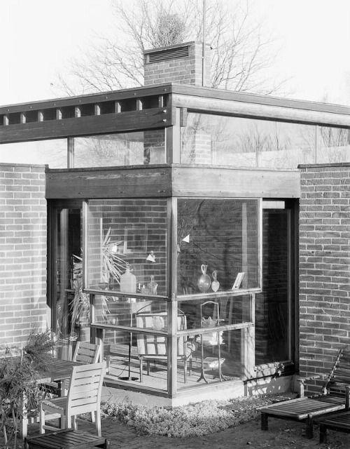 Sverre Fehn, Villa Norrköping. Norrköping, Sweden. 1964.
