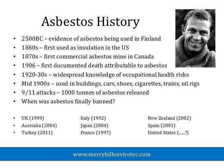 History of Asbestos Use