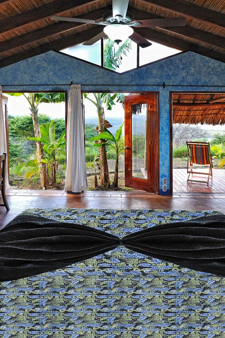 Casitas have private decks overlooking the national park, plus romantic outdoor showers. #Jetsetter