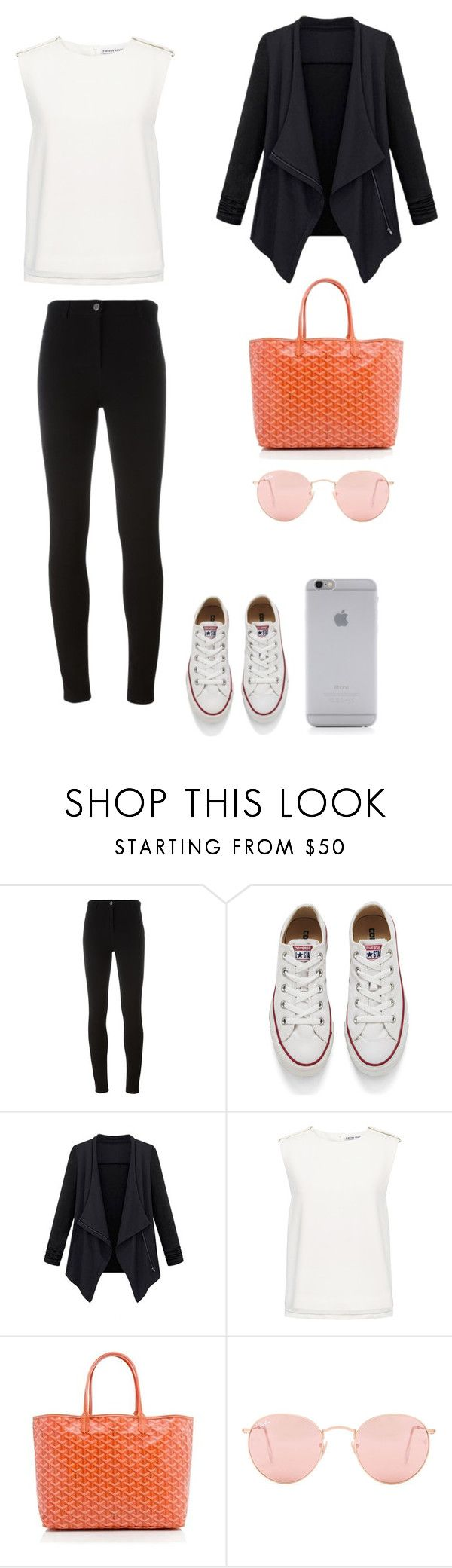 """""""Sem título #142"""" by mcbscap on Polyvore featuring moda, Givenchy, Converse, Finders Keepers, Goyard, Ray-Ban e Native Union"""