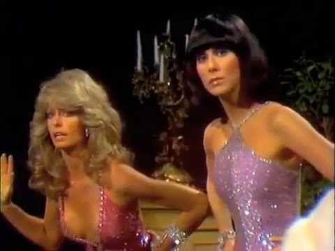 Farrah Fawcett and Cher - SONNY AND CHER SHOW