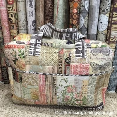 Richele Christensen: Quilt Market 2015 - Tim Holtz Eclectic Elements Fabric Projects