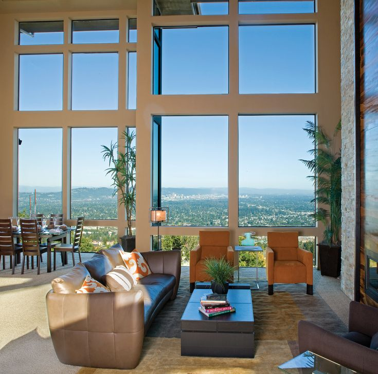 137 best images about design windows on pinterest vinyls in the light and vinyl windows - Expansive large glass windows living room pros cons ...