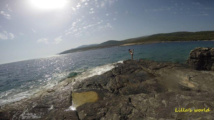 Just keep the balance...at beautiful Vis-island, Croatia♥